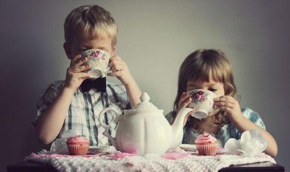 ¿Pueden los niños tomar té?